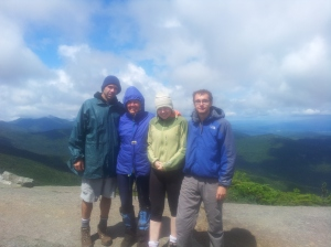 Gothics Peak in the Adirondacks on the August long weekend